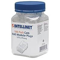 Intellinet 502344 PLUG RJ45 CAT 6 UTP MULTIFILAR 10