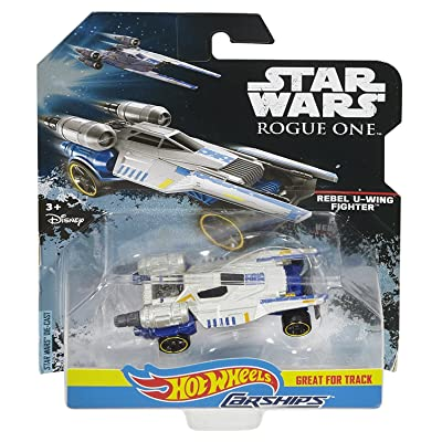 Hot Wheels Star Wars Rogue One Rebel U-Wing Fighter Carship: Toys & Games