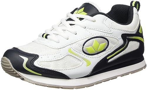 Lico - Nelson, Zapatillas de Running Hombre, Blanco (Weiss/Marine/Lemon), 36 EU: Amazon.es: Zapatos y complementos