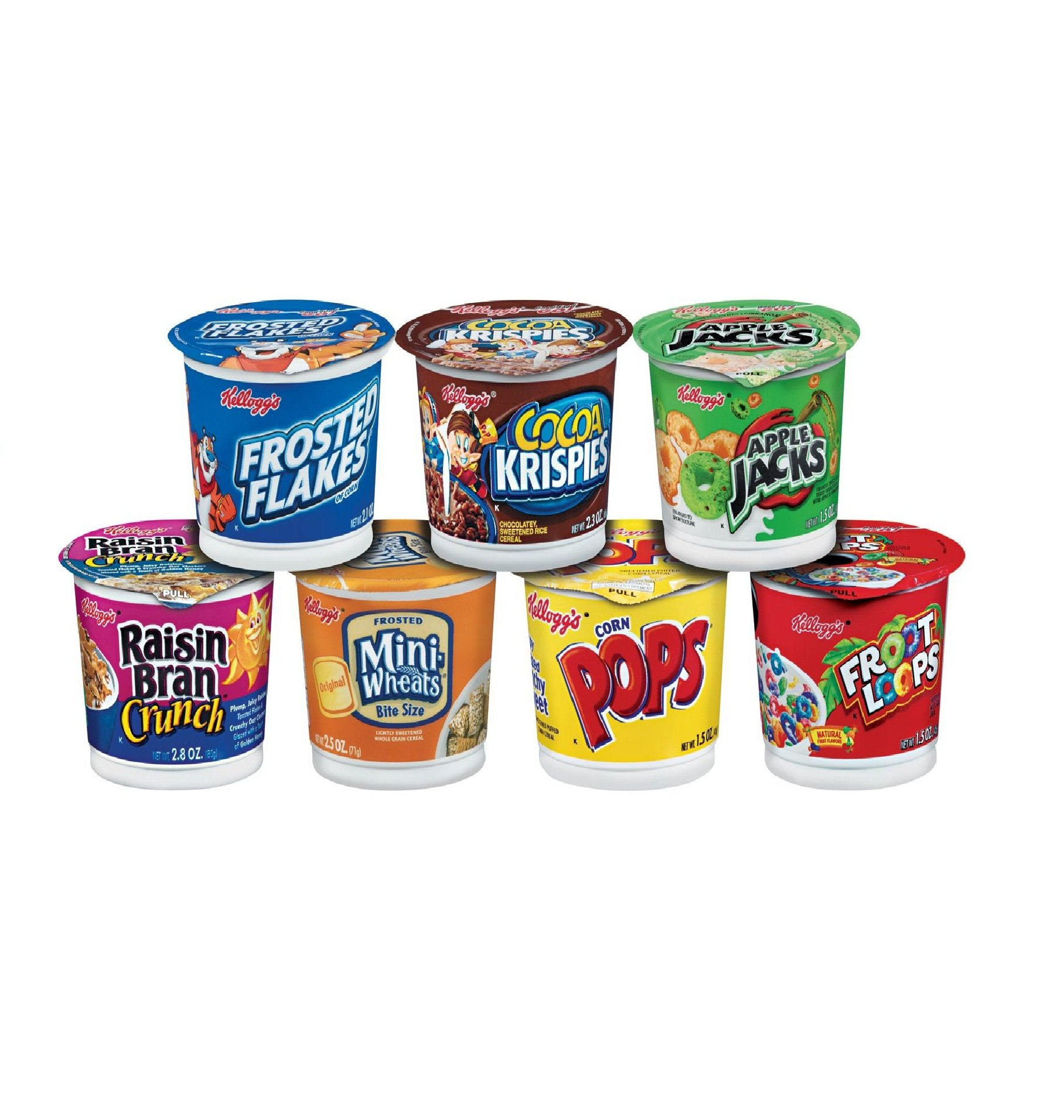 Amazon.com: Kellogg's Cereal In A Cup