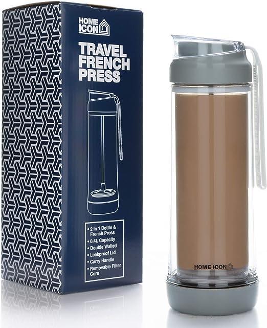 Home Icon - Cafetera de viaje con prensa francesa (jarra de vidrio ...