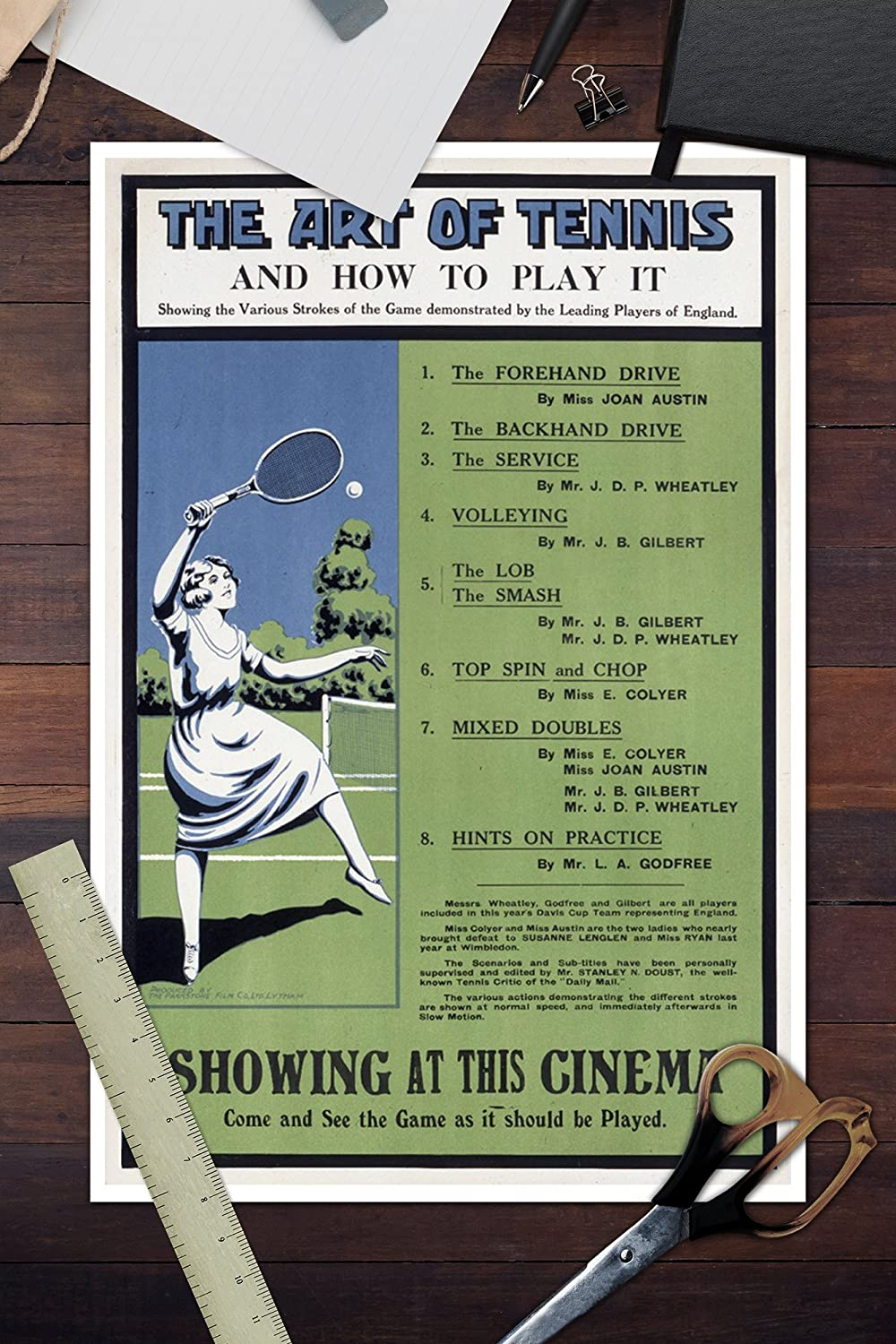 Amazon.com: The Art of Tennis - England - Vintage ...
