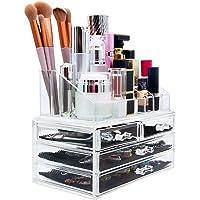 Macallen Organizer do przechowywania kosmetyków do makijażu z 4 szufladami