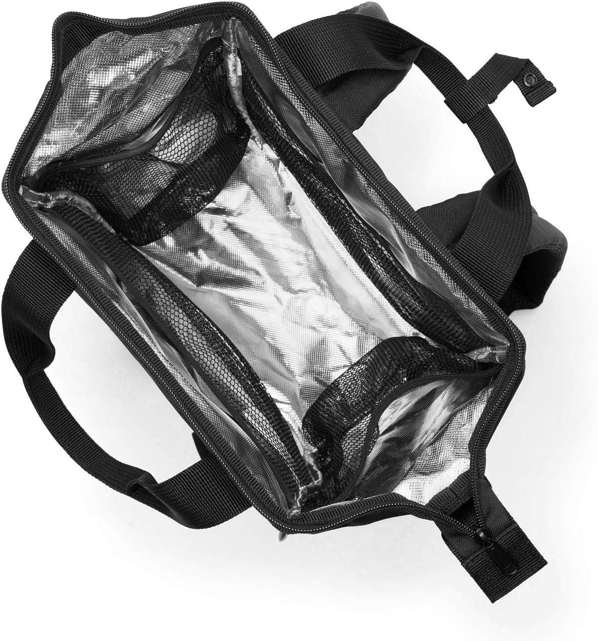 Black Reisenthel Allrounder R iso Sac /à Dos Loisir Noir 12 liters 40 cm