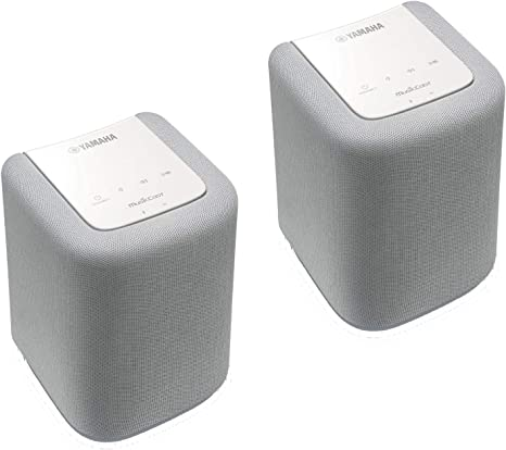 Yamaha Twin 010 Altavoces, Color Blanco