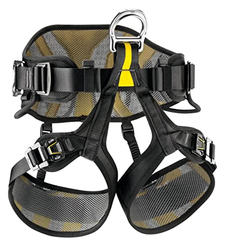Petzl Avao Sit Fast 0, Black/Yellow, 0: Amazon.es: Deportes y aire ...