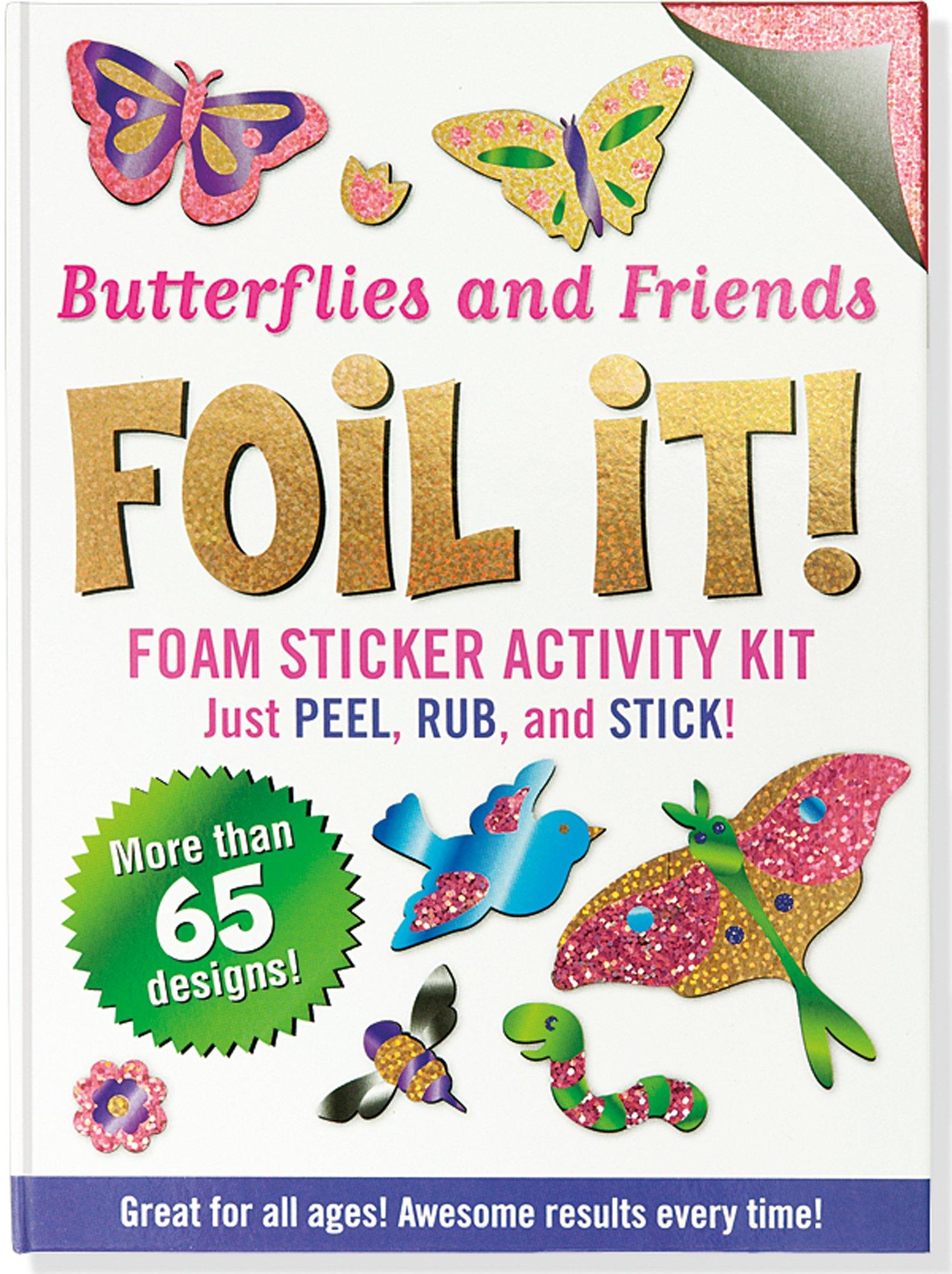 Download Butterflies and Friends Foil It! (foam sticker activity kit) PDF