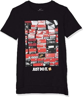 NIKE B NSW tee Dptl Shoebox - Camiseta de Manga Corta Niños: Amazon.es: Ropa y accesorios