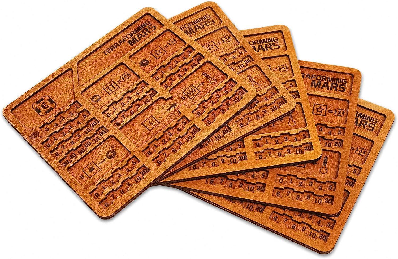 Terraforming Mars wood boards