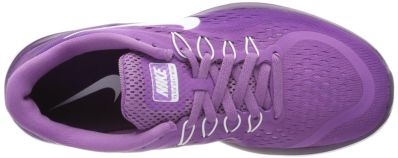 3d483e5c102a67 Nike Women s Flex 2017 Rn Competition Running Shoes Purple  Amazon.co.uk   Shoes   Bags