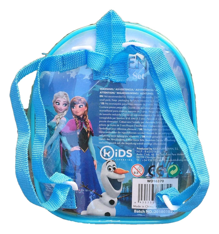 Kids Licensing-Wd16370-Mochila con Accesorios para el Pelo, diseño de Frozen: Amazon.es: Juguetes y juegos