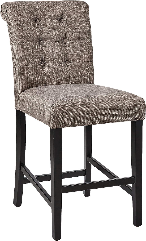 Amazon Brand – Ravenna Home Modern Counter Stool, Set of 2, 38.25