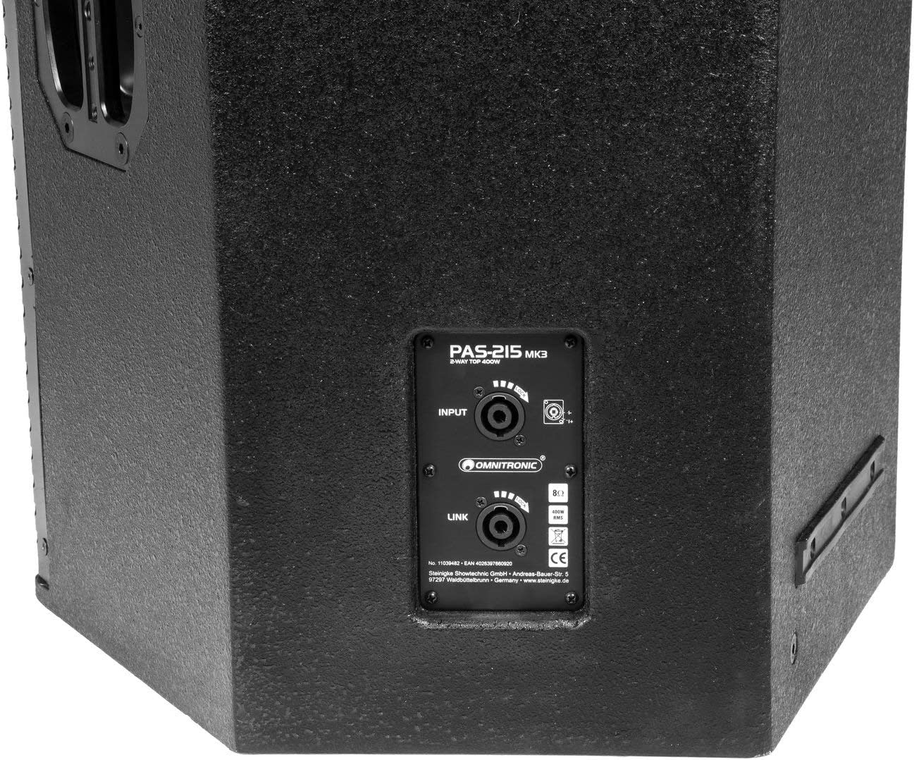 OMNITRONIC PAS-215 MK3 2-Way Top