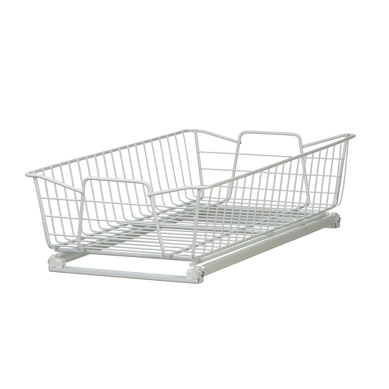 Amazon.com: ClosetMaid 3051 Kitchen 11-Inch Cabinet Organizer, White ...