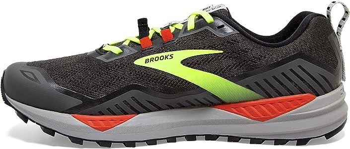 Brooks Cascadia 15, Zapatillas para Correr para Hombre, Black Raven Cherry Tomato, 40 EU: Amazon.es: Zapatos y complementos