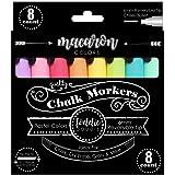 Loddie Doddie Rotuladores de tiza líquida – Macaron colores pastel – Paquete de 8 rotuladores de tiza – Perfecto para pizarra