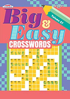 Big Easy Crosswords Puzzle Book Volume 22 Kappa Books