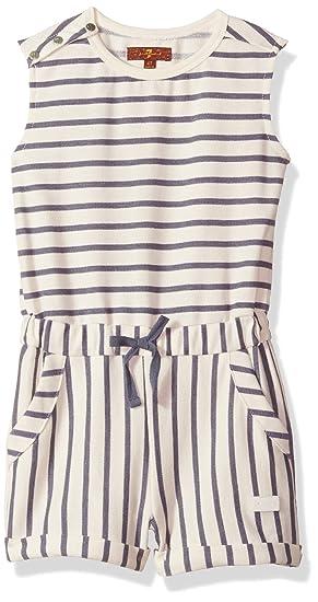 9619a610d1da Amazon.com  7 For All Mankind Girls  Romper Little  Clothing