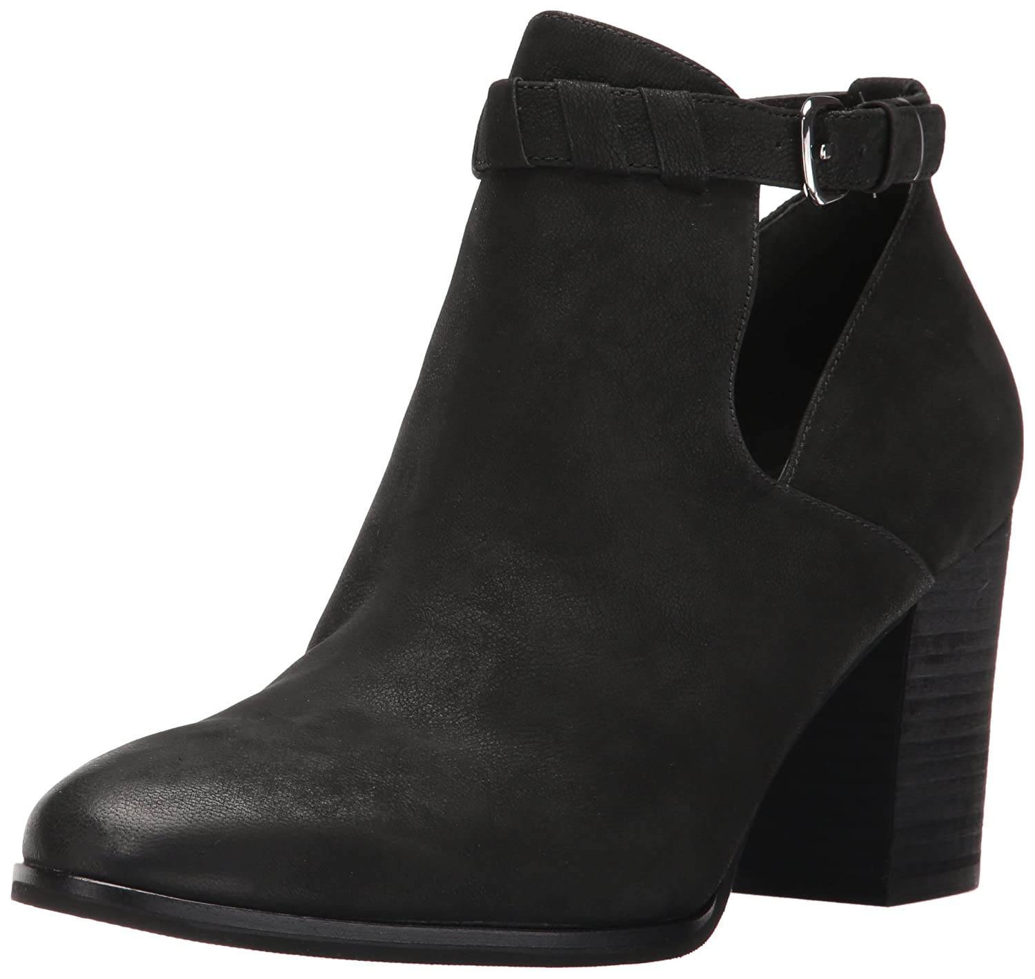 Via Spiga Women's Samantha Bootie Ankle Boot B01NCXD17P 6 M US|Black Nubuck