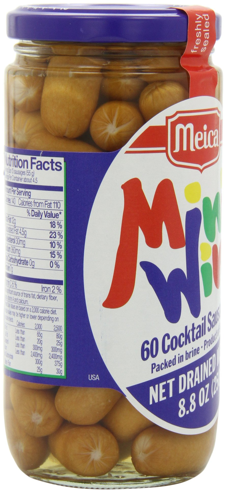 Meica Mini Wini Sixty Cocktail Sausages, 8.8 Ounce by Meica (Image #8)