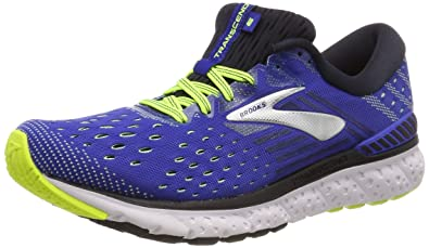 10f93dfb4cf Brooks Mens Transcend 6 - Blue Black Nightlife - D - 8.0