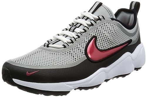 423928424efee Nike Men s Zoom Sprdn Metallic Silver Black White Desert Red Running Shoe 9