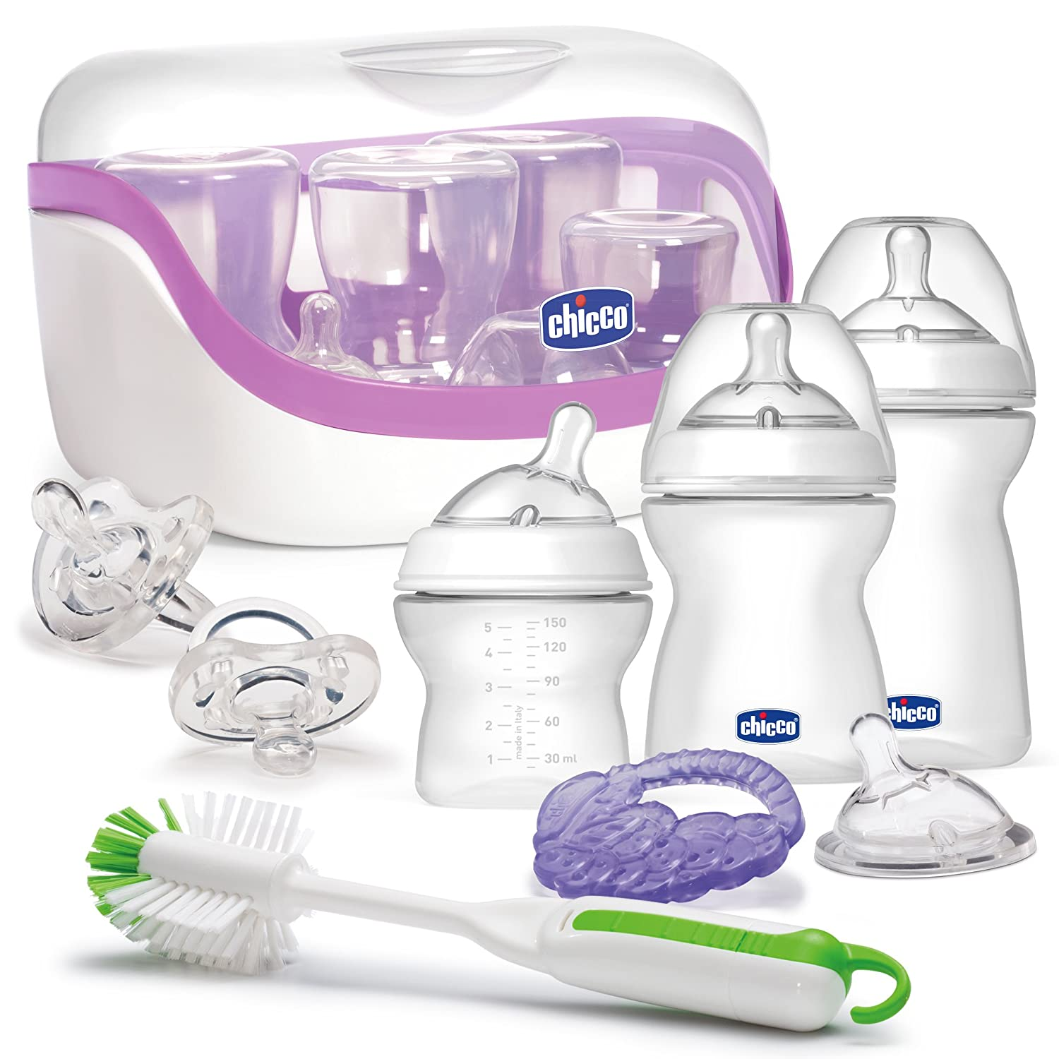 Chicco 8074260 NaturalFit Gift Set-All You Need Starter Set, White 00080742600070