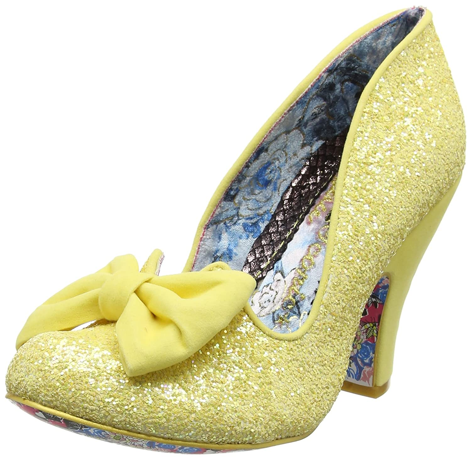 Irregular Choice Nick Of Time Womens Shoes B01AGCWBCQ UK 4 / EU 37 / US 6.5 / AUS 6.5|Yellow