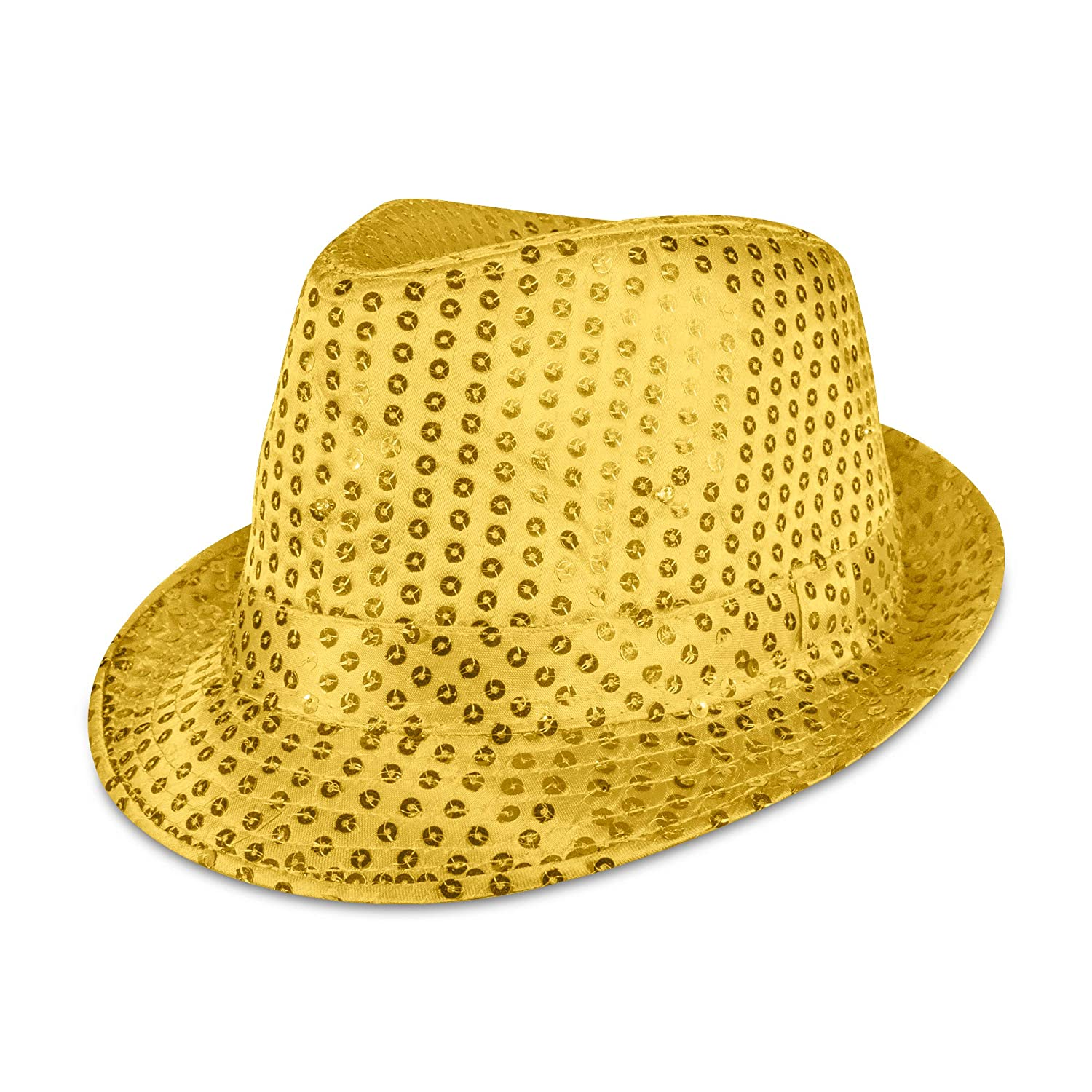 Amazon.com  Supreme Party   Novelties LED Fedora 8a7f59b5882