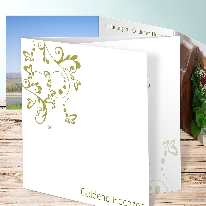 Einladung Goldene Hochzeit Selber Machen Unser Tag 55