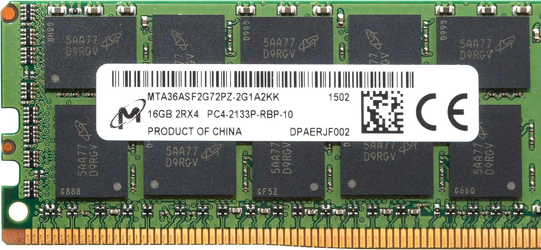 MICRON 16GB PC4-2133P-R Registered ECC Memory RDIMM MTA36ASF2G72PZ-2G1A2KK