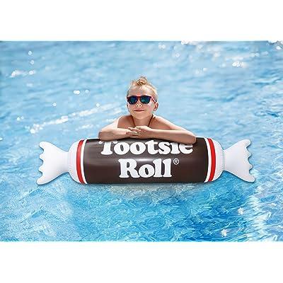 Playtek Pool Float Tootsie Roll Noodle, Brown: Toys & Games