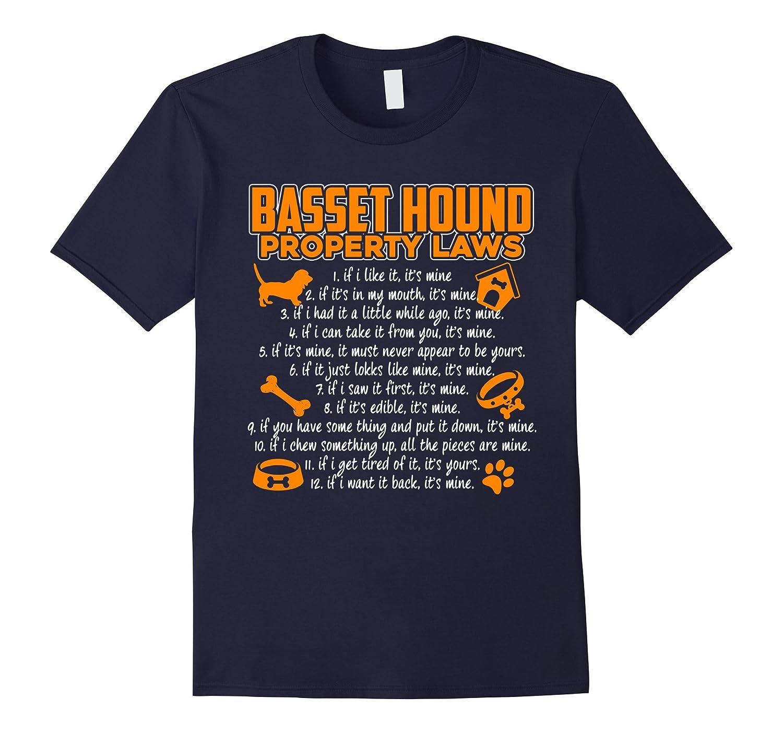 Basset Hound Shirt - Basset Hound Dog Tshirts-Art