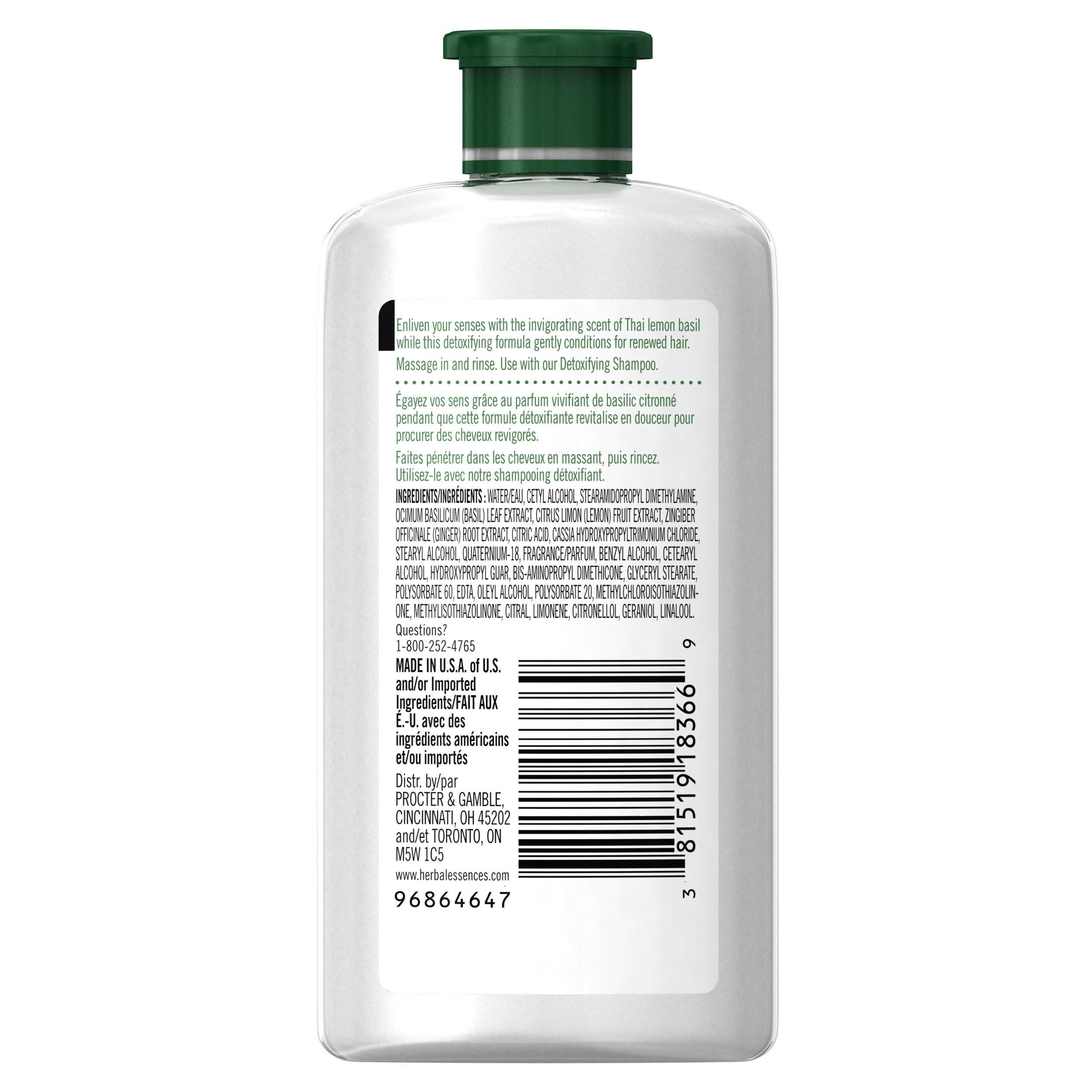 Herbal Essences Wild Naturals Detoxifying Conditioner, 3.38 FL OZ by Herbal Essences (Image #5)