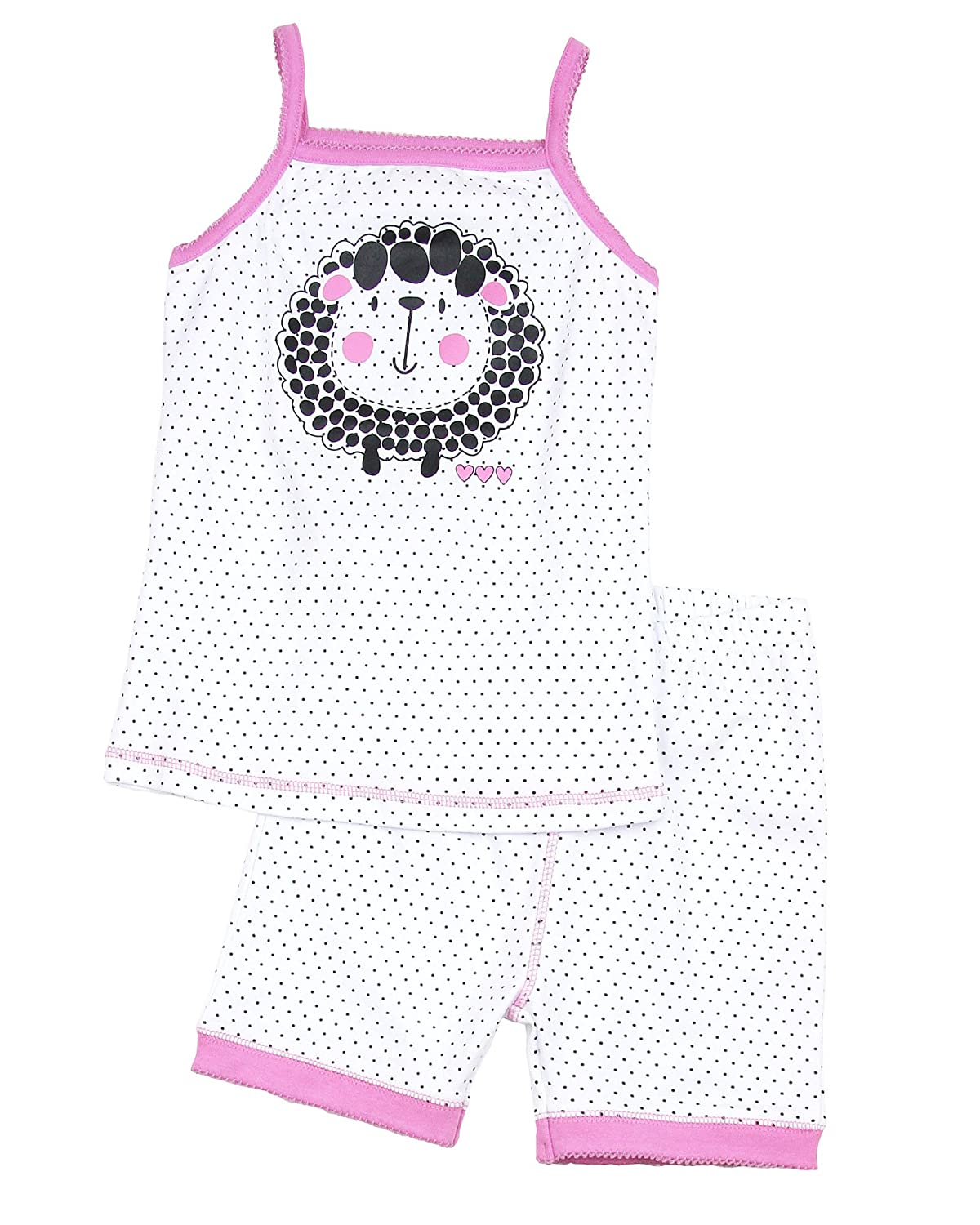 b9e545193fe1 Komar Kids Big Girls  2-Piece Pajamas With Doll Outfit - Pink Multi ...