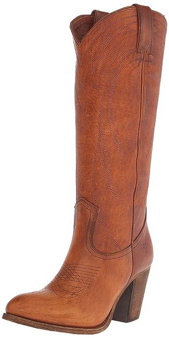f3a4fc07179 FRYE Women's Ilana Pull-On SHOVN Western Boot
