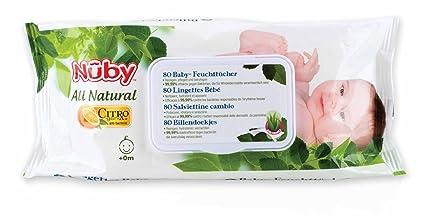 Nuby CG42080 80pieza(s) toallita húmeda para bebé - toallitas húmedas para bebé