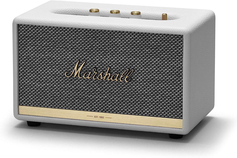 Marshall acton II - Alta voz Bluetooth, Color Blanco, EU
