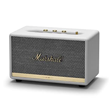 Marshall Acton II - Altavoz Bluetooth, color blanco: Amazon.es: Electrónica