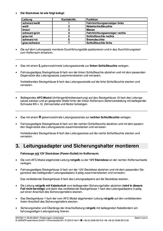 Beste 4 Stift Anhängerstecker Zeitgenössisch - Die Besten ...