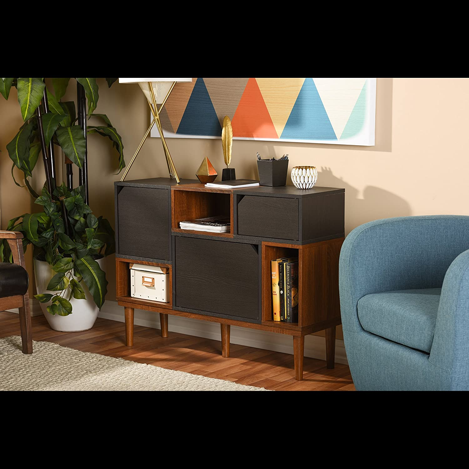 Amazon Baxton Furniture Studios Anderson Mid Century Retro