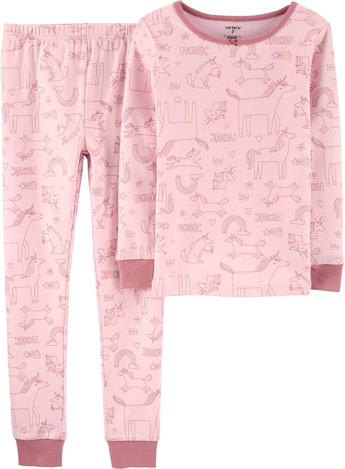Toddler//Kid Carters Little Girls 2 Piece PJ Set