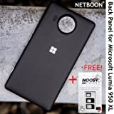 Premium Battery Back Panel Housing Case Cover for Microsoft Lumia 950 XL - Black