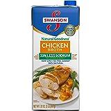 SwansonNatural Goodness Chicken Broth, 32 oz. Carton (12 Pack)
