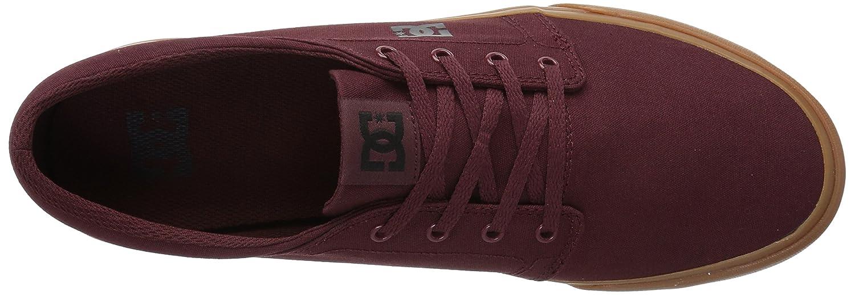 DC Men's B01N9T2CPG Trase TX Unisex Skate Shoe B01N9T2CPG Men's 7 D US|Burgundy/Tan 624a90