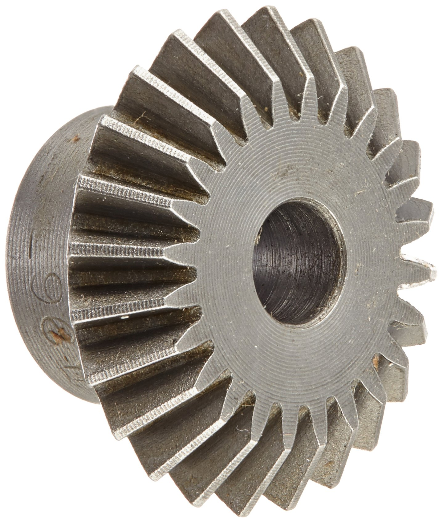 Boston Gear L96Y Miter Gear, 1:1 Ratio, 20 Degree Pressure Angle, 0.250'' Bore, 0.906'' Mounting Distance, 24 Pitch, 24 Teeth, Steel