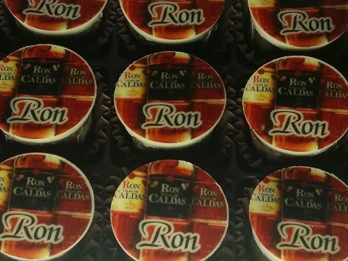 CAJA 15 BOMBONES RELLENOS DE RON: Amazon.es: Alimentación y ...