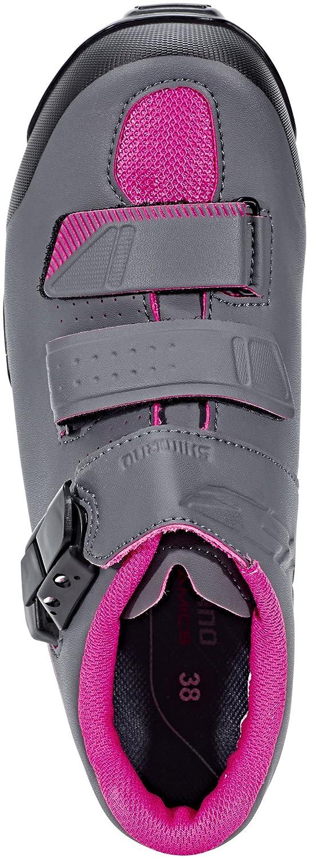 SHIMANO Zapatillas MTB ME300 Gris//Rosa Woman