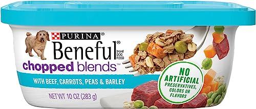 Purina Beneful Chopped Blends Adult Wet Dog Food - 8 10 oz. Tubs
