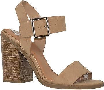 5dedebc5f80 MVE Shoes Women s Ankle Buckle Block Heel Strapp Heeled Sandals